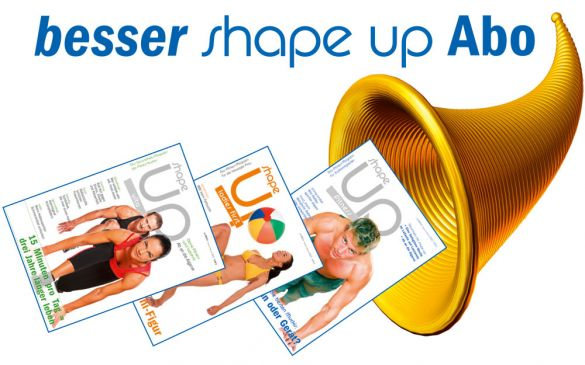 Besser – shape up – Abo