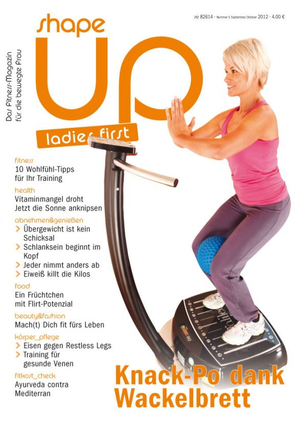 shape up ladies first Heft 05/2012