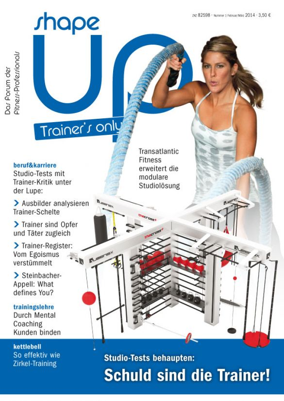 Die aktuelle shape up trainer´s only